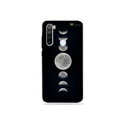 Capa para Xiaomi Redmi Note 8 - Fases da Lua