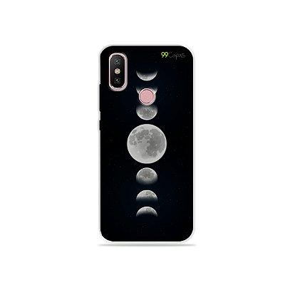 Capa para Xiaomi Mi A2 - Fases da Lua
