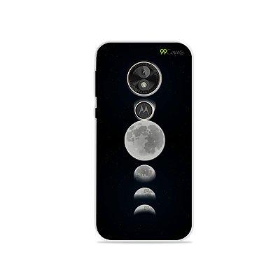 Capa para Moto E5 Play - Fases da Lua