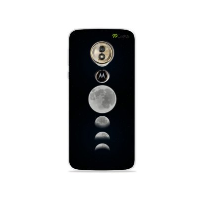 Capa para Moto G6 Play - Fases da Lua