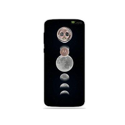 Capa para Moto G6 Plus - Fases da Lua