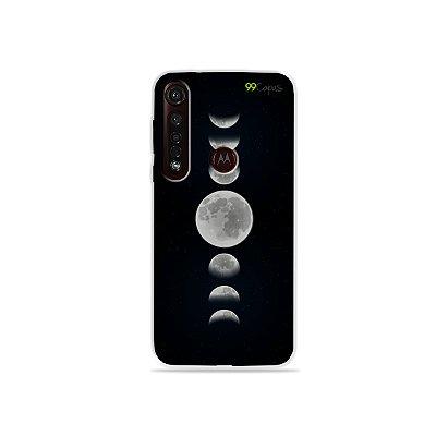 Capa para Moto G8 Plus - Fases da Lua