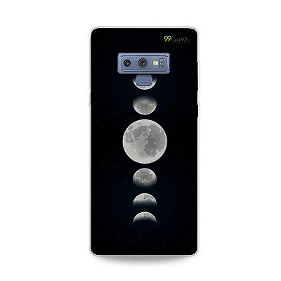 Capa para Galaxy Note 9 - Fases da Lua