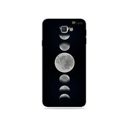 Capa para Galaxy J7 Prime - Fases da Lua