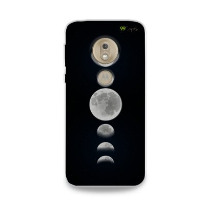Capa para Moto G7 Play - Fases da Lua