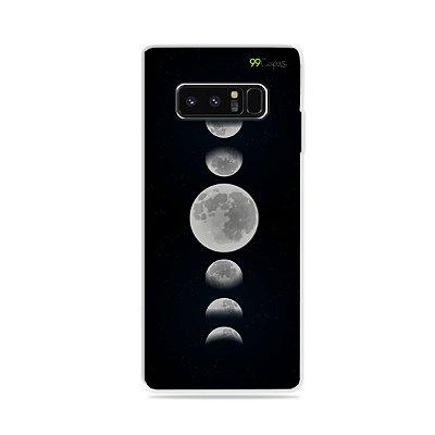 Capa para Galaxy Note 8 - Fases da Lua