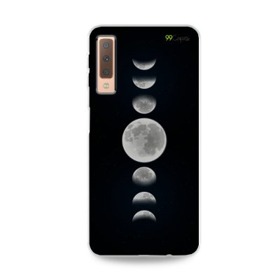 Capa para Galaxy A7 2018 - Fases da Lua