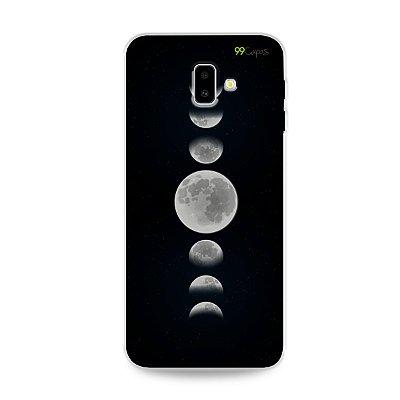 Capa para Galaxy J6 Plus - Fases da Lua
