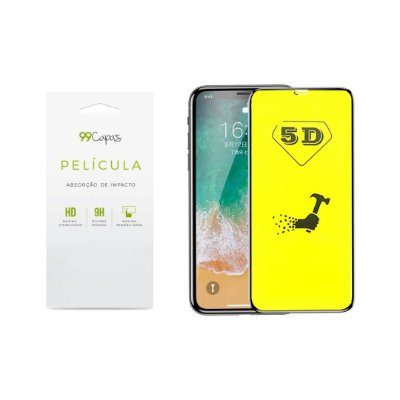 Pelicula de Gel 5D (flexível) para iPhone 8 - 99Capas