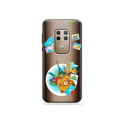 Capa para Moto One Zoom - Memórias