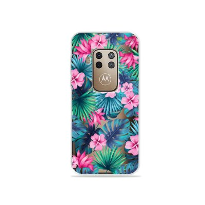 Capa para Moto One Zoom - Tropical