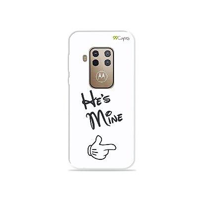 Capa para Moto One Zoom - He's Mine
