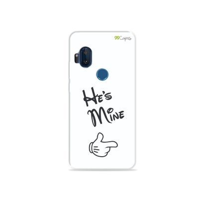 Capa para Moto One Hyper - He's Mine