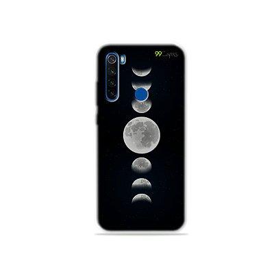 Capa para Xiaomi Redmi Note 8T - Fases da Lua