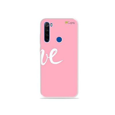 Capa para Xiaomi Redmi Note 8T - Love 2