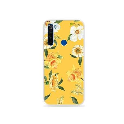 Capa para Xiaomi Redmi Note 8T - Margaridas