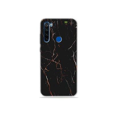 Capa para Xiaomi Redmi Note 8T - Marble Black