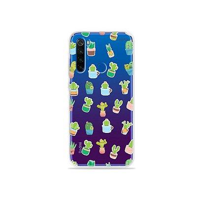 Capa para Xiaomi Redmi Note 8T - Cactus