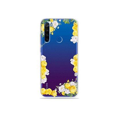Capa para Xiaomi Redmi Note 8T - Yellow Roses