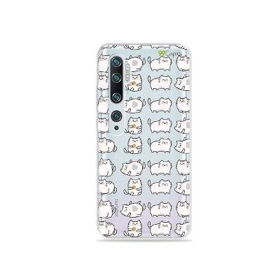 Capa para Xiaomi Mi Note 10 - Lazy Cat