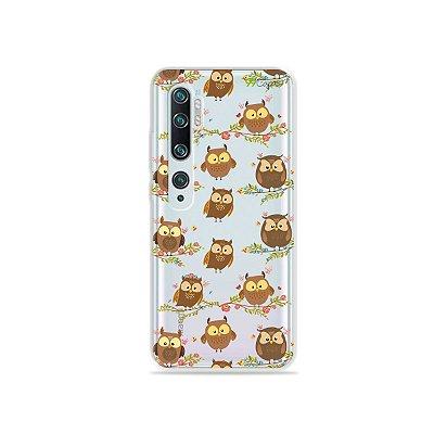 Capa para Xiaomi Mi Note 10 - Corujinhas