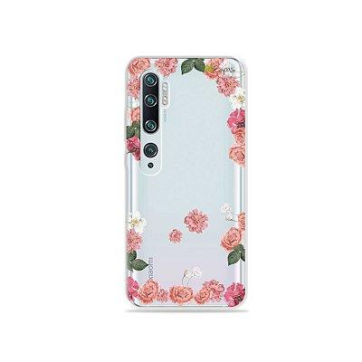 Capa para Xiaomi Mi Note 10 - Pink Roses