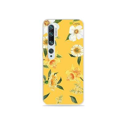 Capa para Xiaomi Mi Note 10 - Margaridas
