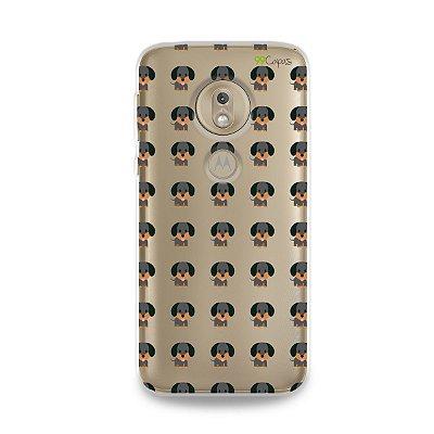 Capa para Moto G7 Play - Salsichinha