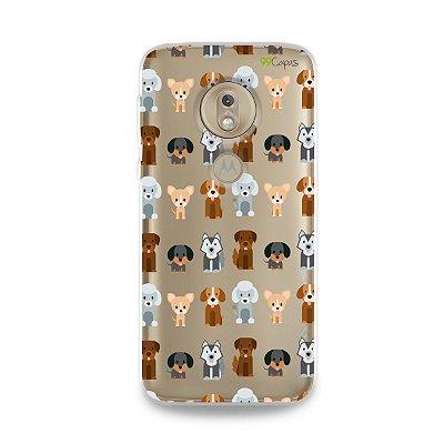 Capa para Moto G7 Play - Doguinhos
