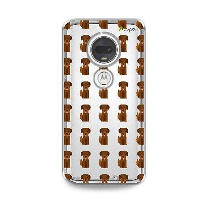 Capa para Moto G7 Plus - Golden