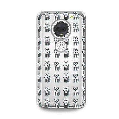 Capa para Moto G7 Plus - Husky