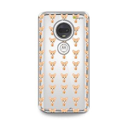 Capa para Moto G7 Plus - Chihuahua