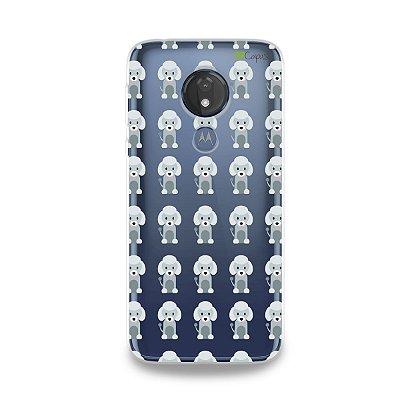 Capa para Moto G7 Power - Poodle