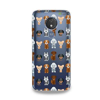 Capa para Moto G7 Power - Doguinhos