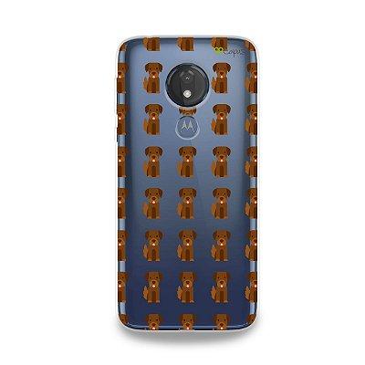 Capa para Moto G7 Power - Golden