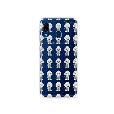 Capa para Galaxy A20 - Poodle