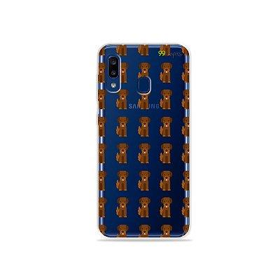Capa para Galaxy A20 - Golden