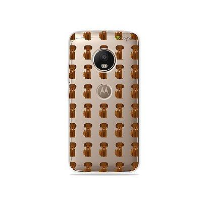 Capa para Moto G5 Plus - Golden