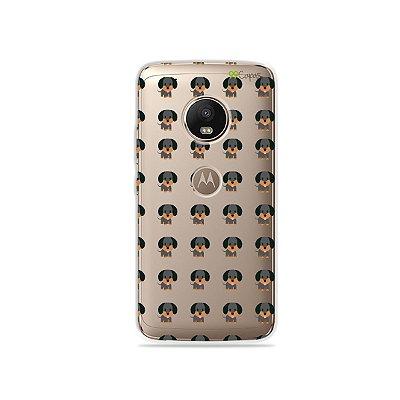 Capa para Moto G5 Plus - Salsichinha
