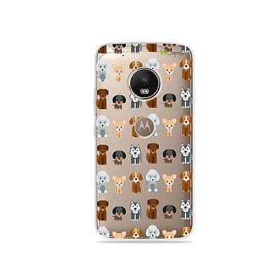 Capa para Moto G5 Plus - Doguinhos