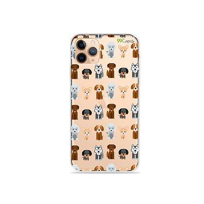 Capa para iPhone 11 Pro - Doguinhos