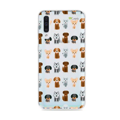 Capa para Galaxy A50 - Doguinhos
