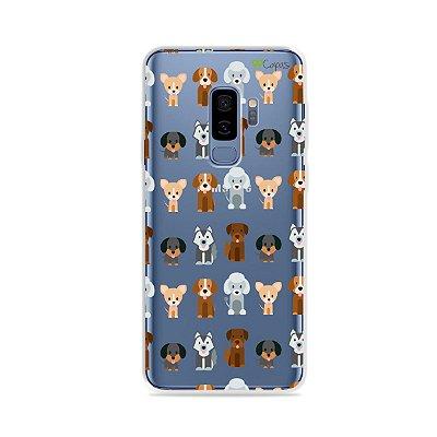 Capa para Galaxy S9 Plus - Doguinhos