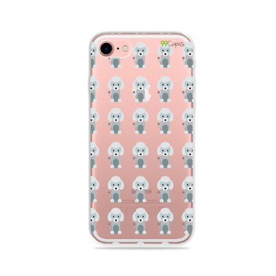 Capa para iPhone 7 Plus - Poodle