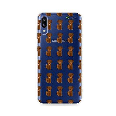 Capa para Galaxy M10 - Golden