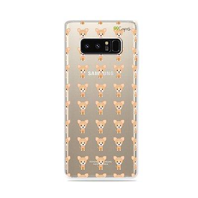 Capa para Galaxy Note 8 - Chihuahua