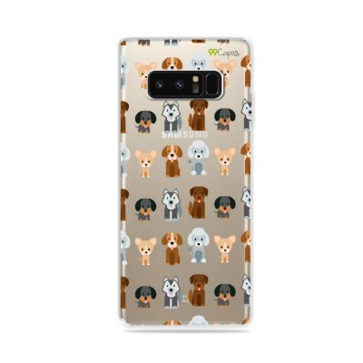 Capa para Galaxy Note 8 - Doguinhos