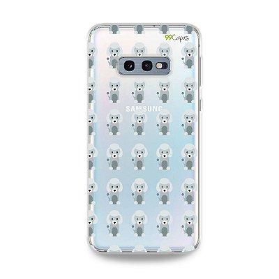 Capa para Galaxy S10e - Poodle