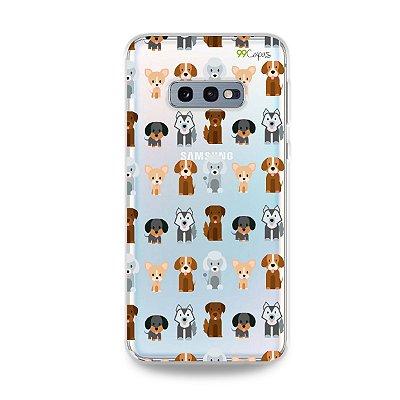 Capa para Galaxy S10e - Doguinhos