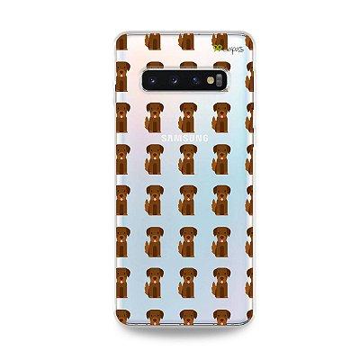 Capa para Galaxy S10 Plus - Golden